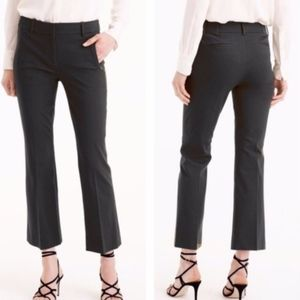 j. crew | black teddie cropped dress pants sz 32
